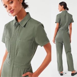 Urban Outfitters Canvas Flight Jumpsuit XS